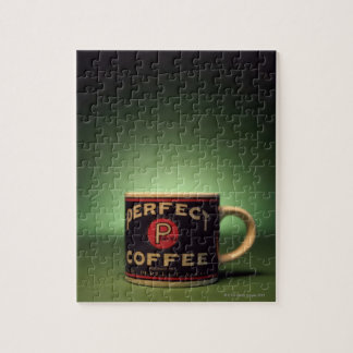 Coffee mug jigsaw puzzle