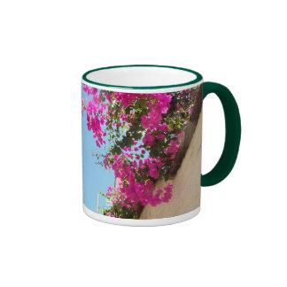 Coffee Mug, Liz Taylor's House, Puerto Vallarta Ringer Mug