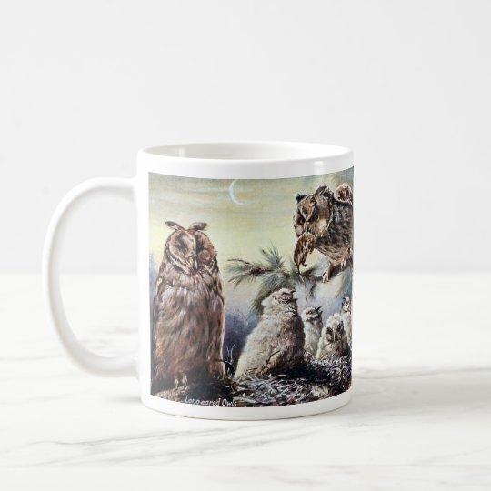 Coffee Mug - Long-Eared Owls