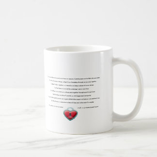 Coffee Mug -Love Mug Lockheart roses and poem