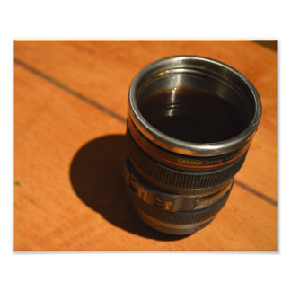 Coffee Mug on Table Photo Art