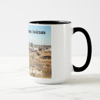 Coffee Mug or Tea Mug - Western Tombstone AZ Style