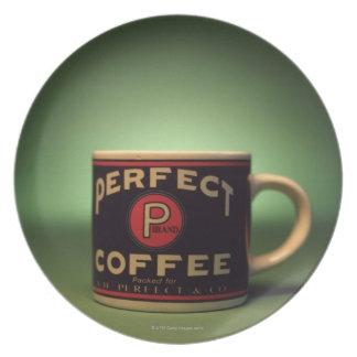 Coffee mug plate