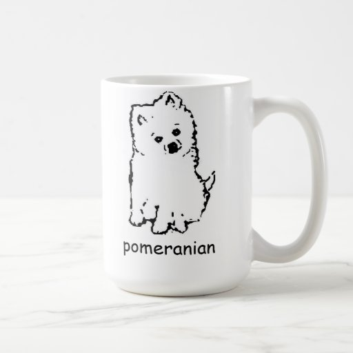 coffee mug pomeranian
