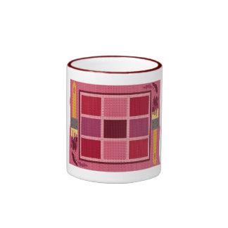 COFFEE MUG : Red Paint Chips