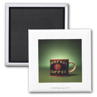 Coffee mug square magnet