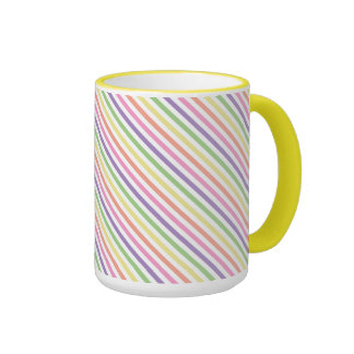 Coffee Mug - Striped for Painted Spider Mum