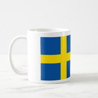 Coffee Mug - Swedish Flag