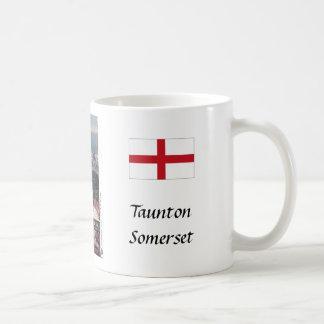 Coffee Mug, Taunton, Somerset Basic White Mug