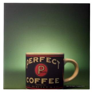 Coffee mug tile