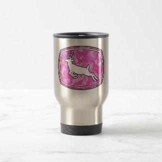 COFFEE MUG/TRAVEL MUG PINK CAMO DEER