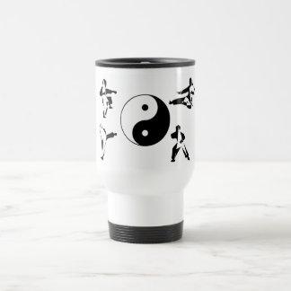 coffee mug travel yin yang karate