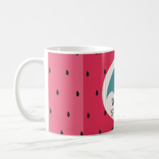 "Coffee mug ""Umbrella Watermelon"" Mommys Sippy Cup"