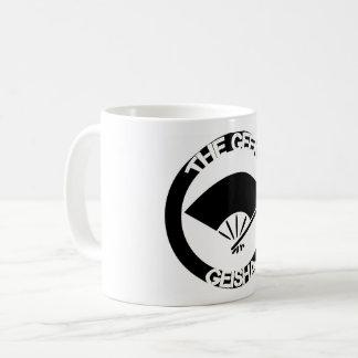 Coffee Mug, White Handle Coffee Mug
