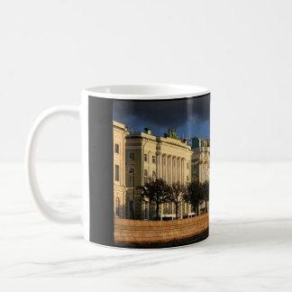 Coffee Mug: Winter Palace from the Neva River Basic White Mug