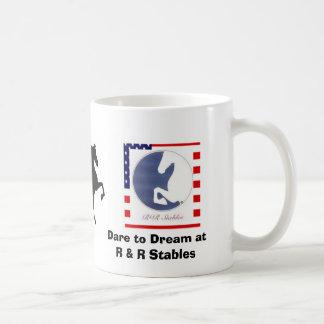Coffee Mug with American Saddlebreds