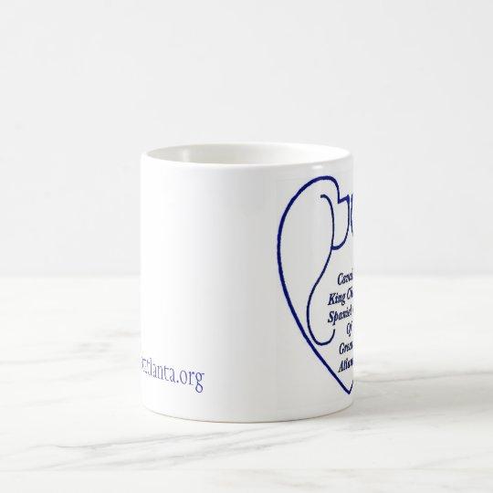 Coffee mug with club logo