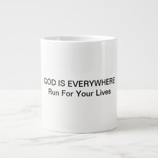 Coffee Mug with God is Everywhere quote