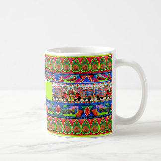 Coffee Mug with Name - Inspired by Truck Art - 2