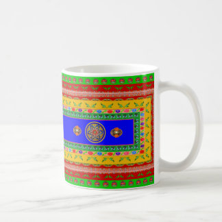 Coffee Mug with Name - Inspired by Truck Art  - 3