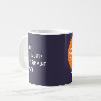 Coffee Mug with Orange & White ASP Logo
