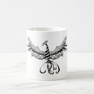 Coffee mug with Phoenix design