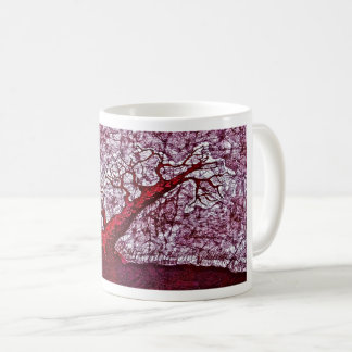 Coffee Mug with Pine Tree
