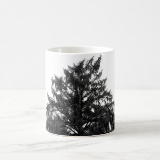 coffee mug with pine tree