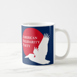 Coffee Mug with Red & White ASP Logo