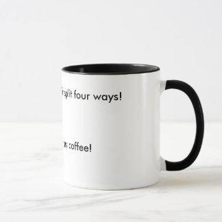 Coffee mug with Southern Saying