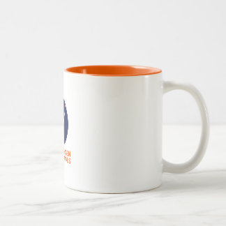 Coffee mug with the Copenhagen Suborbitals Logo