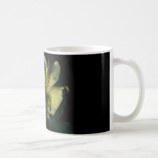 coffee mug with yellow rose