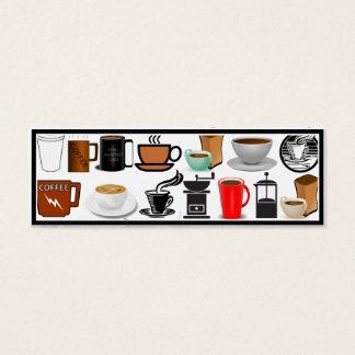 Coffee Mugs (Add Background Color) Mini Business Card
