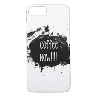 Coffee Now iPhone 7 cover