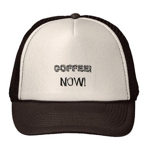 Coffee now - Senior citizens. Trucker Hats