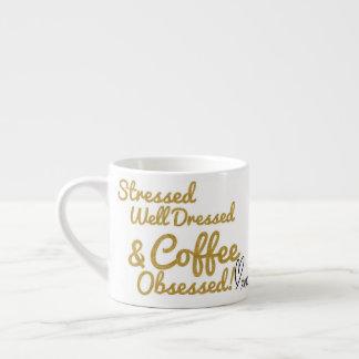Coffee Obsessed Expresso Mug