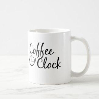 Coffee O'Clock Coffee Mug