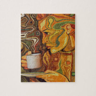 Coffee or Tea Puzzle with Gift Box