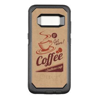Coffee OtterBox Commuter Samsung Galaxy S8 Case