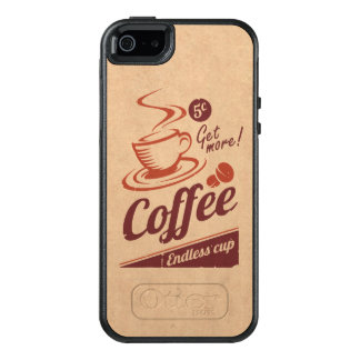 Coffee OtterBox iPhone 5/5s/SE Case
