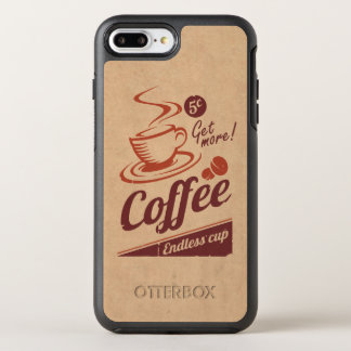 Coffee OtterBox Symmetry iPhone 7 Plus Case