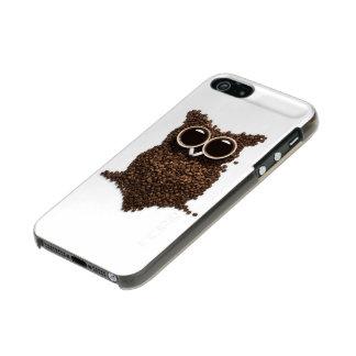 Coffee Owl Incipio Feather® Shine iPhone SE Case