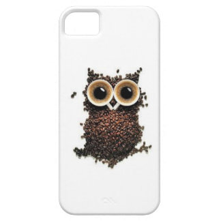 Coffee owl iPhone 5 cover