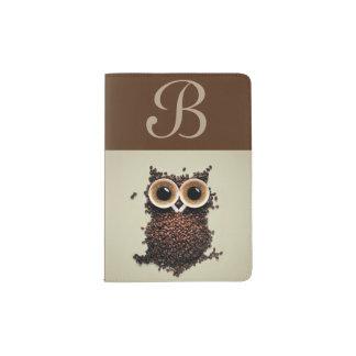 Coffee Owl Passport Holder