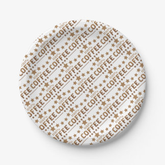 coffee paper plate