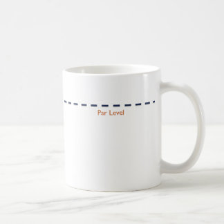 Coffee Par Level Basic White Mug