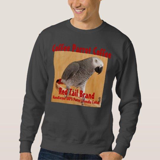 Coffee Parrot Coffee Red Tail Brand Sweatshirt