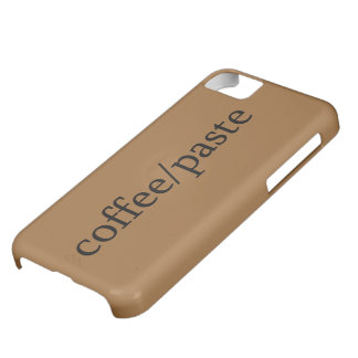 coffee/paste iPhone 5C cases