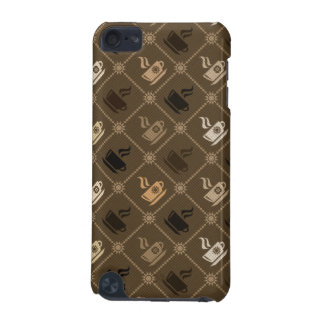 Coffee Pattern 5 iPod Touch (5th Generation) Cover