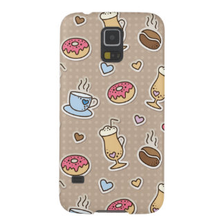 Coffee pattern galaxy s5 covers